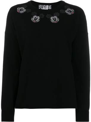 Aniye By Mickey Mouse embellished sweatshirt