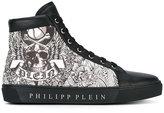 Philipp Plein hi-top sneakers - men - Leather/rubber - 42