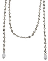 CZ by Kenneth Jay Lane - Diamond By The Inch Lariat