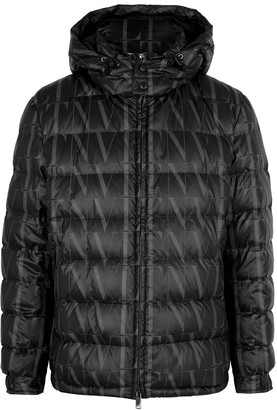Valentino VLTN Times printed quilted shell jacket