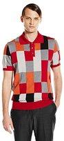 David Hart Men's Short Sleeve Polo Sweater