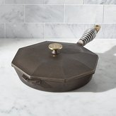 Crate & Barrel Finex Cast Iron Skillet with Lid