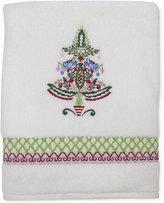 Dena Peppermint Twist Embroidered Bath Towel