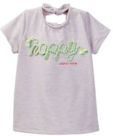 Andy & Evan Happy Knot Detailed Top (Toddler & Little Girls)