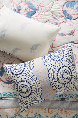 Anthropologie Morelia Shams, Set of 2 By Artisan Quilts by in Assorted Size S2 qn sham