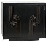 Noir Deco 2 Door Sideboard