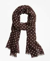 Brooks Brothers Polka Dot Scarf