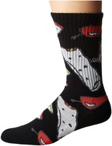 Vans Tacos E Burritos Crew 1-Pack Men's Crew Cut Socks Shoes