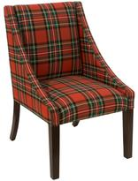 Swoop Dining Chair - Red Plaid