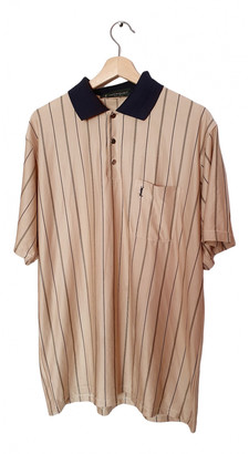 Saint Laurent Beige Silk Polo shirts