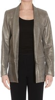Sylvie Schimmel Leather Blazer