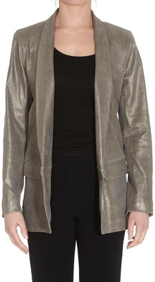 Sylvie Schimmel Leather Blazer