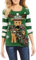 So It Is Tinsel Reindeer Holiday Sweater