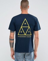HUF Triple Triangle T-Shirt With Back Print