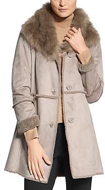 Basler Faux-Fur Trimmed Coat