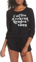 Chaser Women's Coffee Weekend Rendezvous Pullover