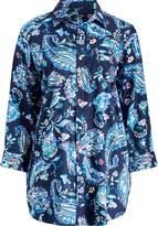 Lauren Ralph Lauren Ralph Lauren Paisley Sateen Sleep Shirt