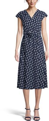 Anne Klein Tie Waist Midi Dress