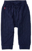 Ralph Lauren Girl Quilted Fleece Jogger Pant