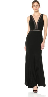 Xscape Evenings Women's Long Jersey Dress