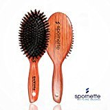 Spornette DeVille 100% Boar Bristle Oval Cushion Brush