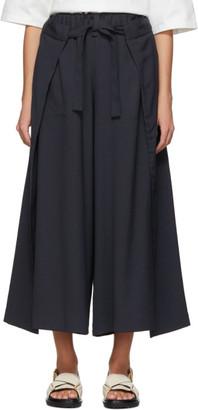 Issey Miyake Black Wrap Trousers