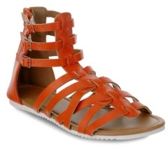 OLIVIA MILLER Tampa Multi Strapped Gladiator Sandals Women's Shoes