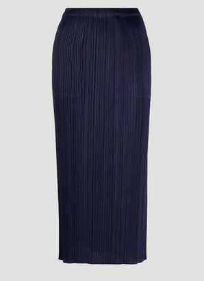 Pleats Please Issey Miyake Pleated Skirt