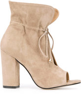 Marc Ellis - open-toe boots - women - Leather - 36