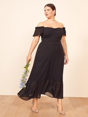 Reformation Butterfly Dress Es