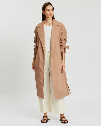 Jag Holly Relaxed Trench Coat
