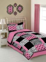 Veratex Skulls Size 4-Piece Comforter Set