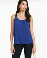 Express double strappy back cami