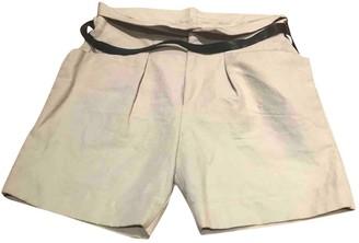 Isabel Marant Beige Cloth Shorts for Women