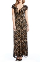 Karen Kane Women's Juliet Lace Maxi Dress