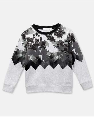 Stella McCartney Camo Cotton Sweatshirt