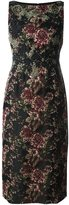 Antonio Marras floral jacquard dress - women - Acrylic/Polyester/Spandex/Elastane/Viscose - 44