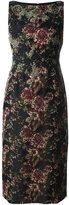 Antonio Marras floral jacquard dress - women - Polyester/Viscose/Spandex/Elastane/Acrylic - 44