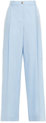 Nina Ricci Wool-twill Wide-leg Pants