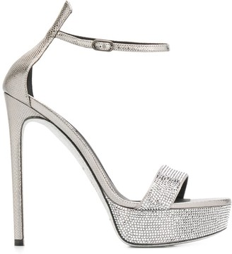 Rene Caovilla High-Heel Sandals