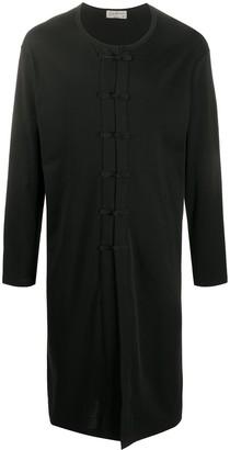 Yohji Yamamoto Long Cotton Cardigan