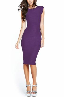 Taydey Women's Midi Dresses Sleeveless Knee Length Party Evening Dress Small