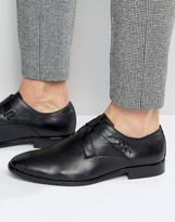 Aldo Melfort Leather Strap Monk Shoes