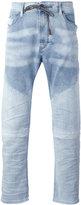 Diesel drawstring denim jeans