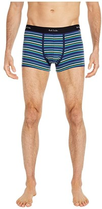 Paul Smith Multistripe Trunks (Navy) Men's Underwear