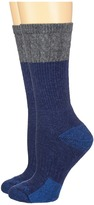 Carhartt Merino Wool Blend Textured Crew Socks 2-Pair Pack Women's Crew Cut Socks Shoes
