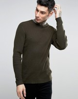 Asos Alpaca Mix Ribbed Sweater