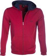 HUGO BOSS BOSS Jacket Hooded Sweat Top in Red M