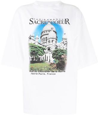 Balenciaga photograph-print short-sleeve T-shirt