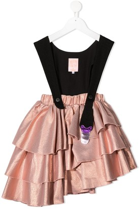 Wauw Capow By Bangbang Fairytale Holiday pinafore dress